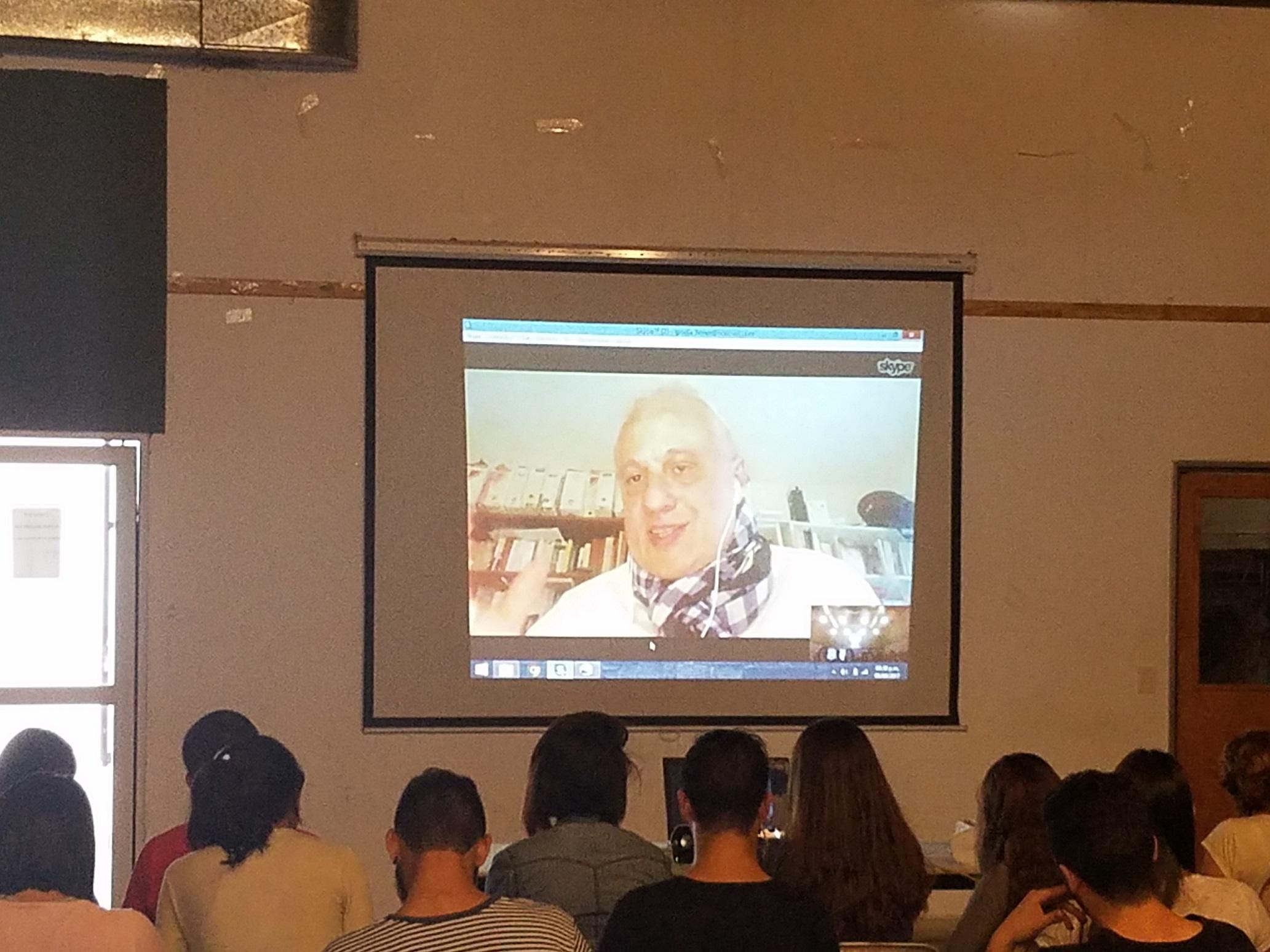 Video-conferencia de Inauguración - Miércoles 5 de abril