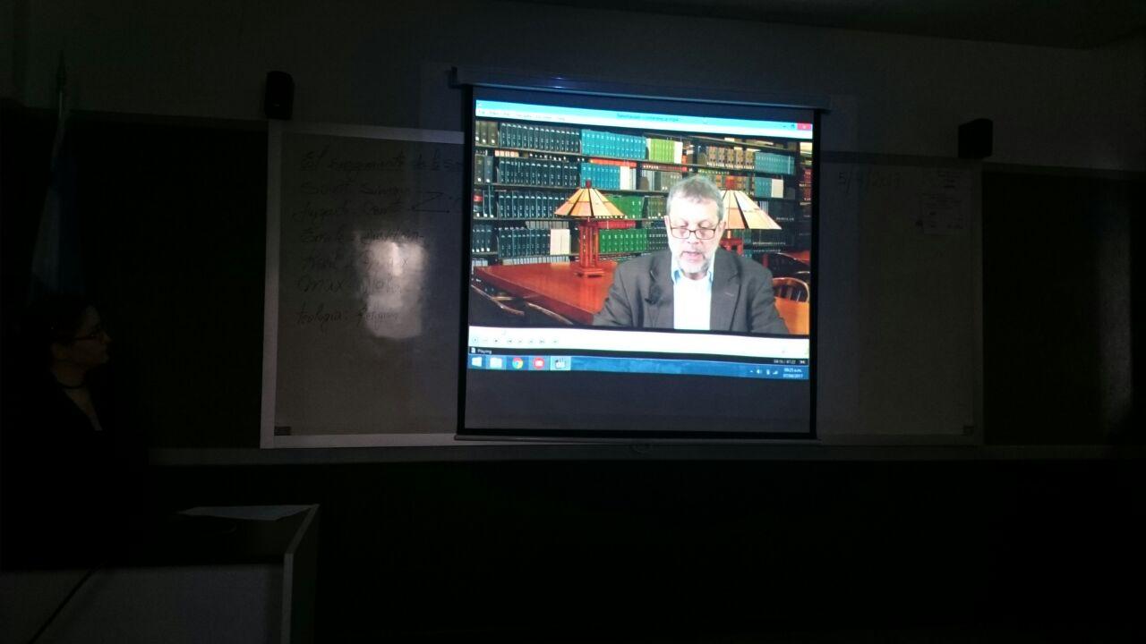Video-conferencia del Dr. Newhauser